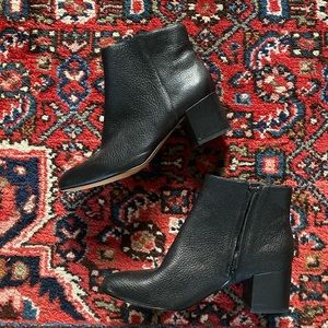 Banana Republic Leather Ankle Boot